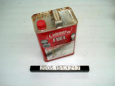 Coleman fuel tin