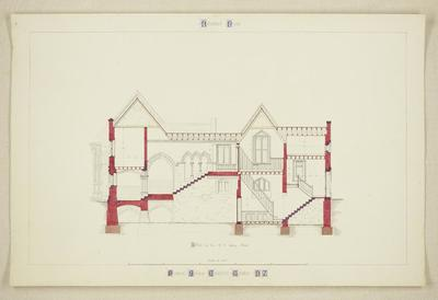 Mountfort Architectural Plan: Canterbury Provincial Council Buildings
