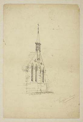 Mountfort Architectural Plan: Phillipstown Church