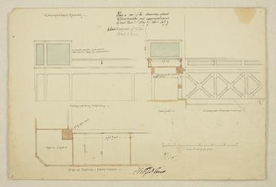 Mountfort Architectural Plan: Canterbury Museum, 1877