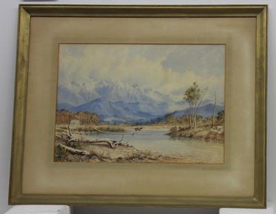 Painting: Matakitaki River, Nelson