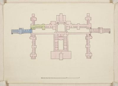 Bury & Mountfort Architectural Plan: Sunnyside Asylum