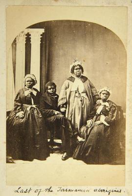 Photograph: Last of the Tasmanian Aborigines