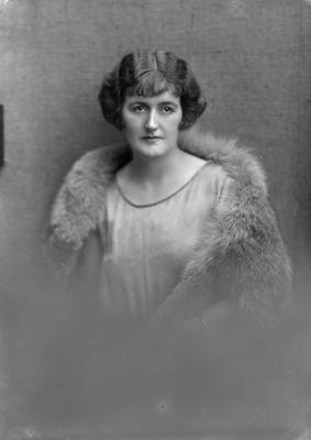 Film Negative: Mrs H Holland