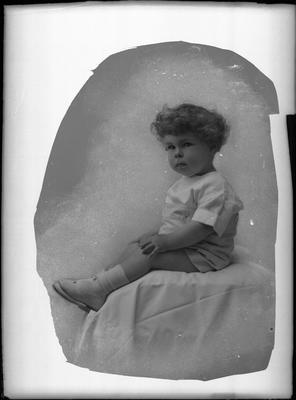 Glass Plate Negative: Mrs A Sandston