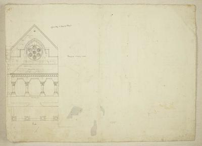 Mountfort Architectural Plan: Canterbury Museum, 1874