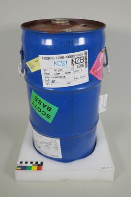 Chemical storage drum