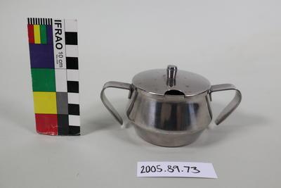 Sugar Bowl: Stainless Steel