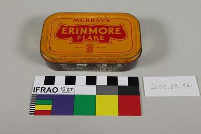 "Tobacco tin ""Murray's Erinmore Flake"""
