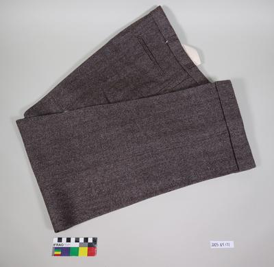 Trousers: Saddle Tweed
