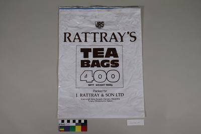 Packaging for tea bags