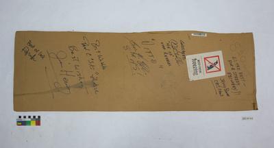 Cardboard from air drop box