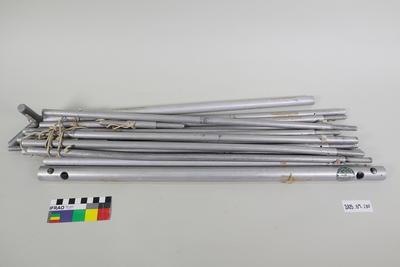 Metal tent frame parts