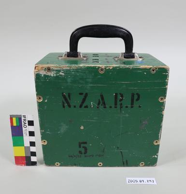 """Radio battery box """"NZARP 5"""""""