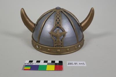 Plastic Viking helmet