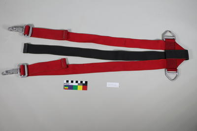 Helicopter seat belts part