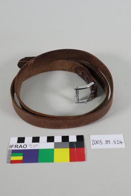 Belt: Leather