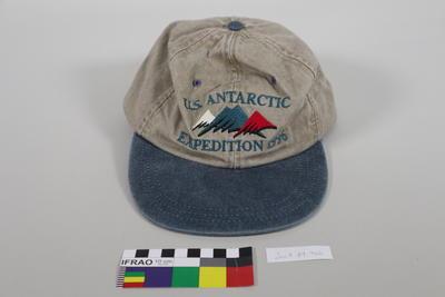 Cap: US Antarctic Expedition