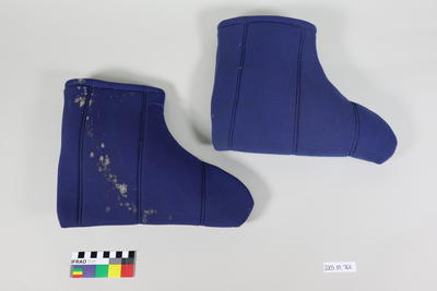 Boot Liners: Blue