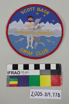 Badge: Scott Base Swim Club