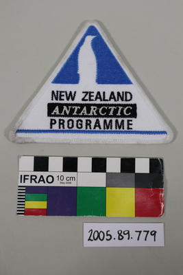 Badge: New Zealand Antarctic Programme