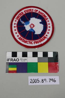 Badge: United States of America Antarctic Program