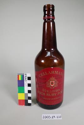 Port Bottle: Signed