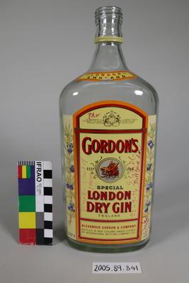 Spirits Bottle: Signed