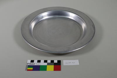 Aluminium dinner plate
