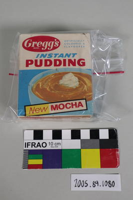 Packet of instant pudding