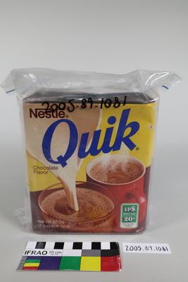 Box of Nestle Quik drink