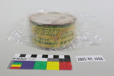 Tin of butter