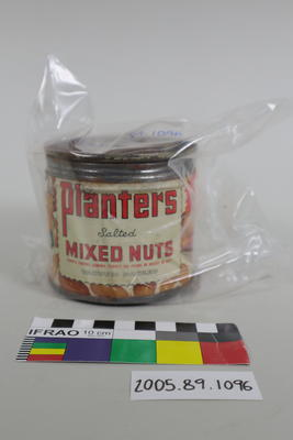 Tin of mixed nuts