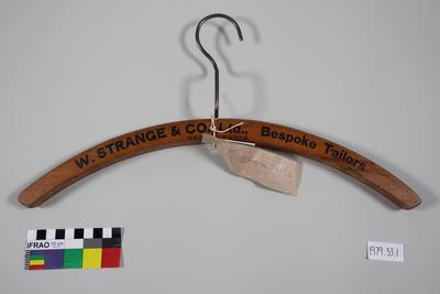 Coat Hanger: Wooden