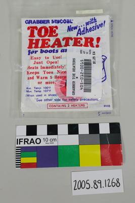 Chemical toe warmer