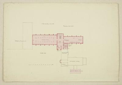 Mountfort Architectural Plan: Canterbury Museum