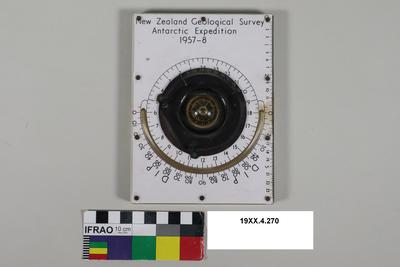 Compass: New Zealand Geological Survey Antarctic Expedition 1957-8