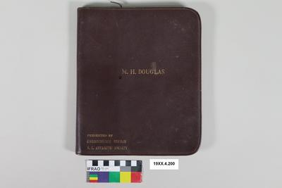 Document Holder: M H Douglas