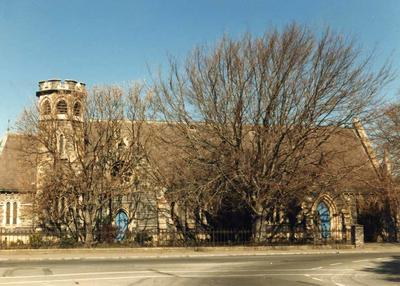 Colour Photograph: St John's Anglican Church, Latimer Square, 1985