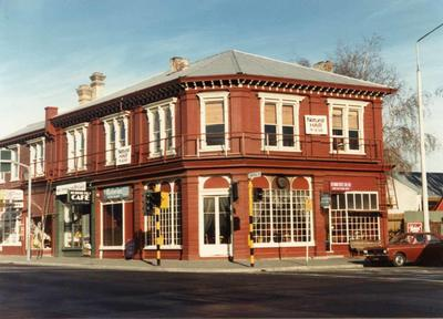 Colour Photograph: Victoria Coffee House, 1985