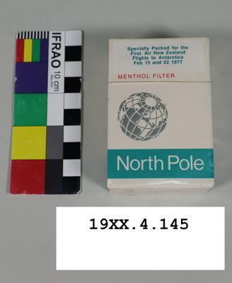 Cigarette Pack: North Pole