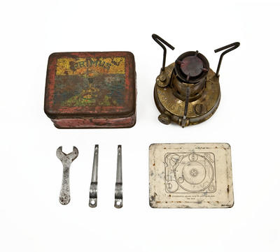 Primus Stove: Owned by Charles Wright