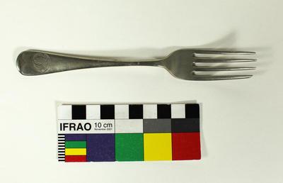 Dessert fork (rats tail design), British Antarctic Expedition