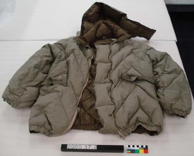 Extreme Cold Weather Jacket with detachable hood