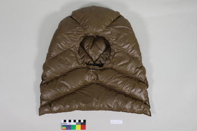 Hood for jacket and/or sleeping bag
