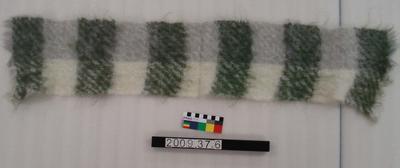 Mohair scarf; 1960s; 2009.37.6