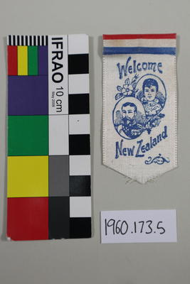 Souvenir Ribbon: Welcome New Zealand