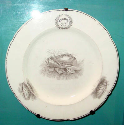 Porcelain Plate: Erebus