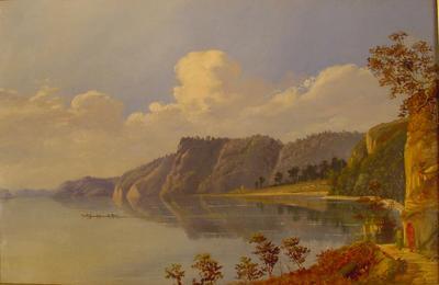 Painting: Lake Rotoiti