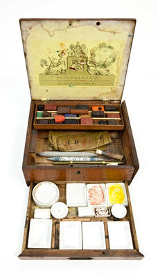 Paint Box: Edward Wilson; Circa 1900; 2010.110.1